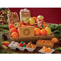 Holiday Cheer Basket with Holiday Golds