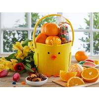 Cheerful Chick Easter Basket
