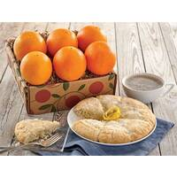 Meyer Lemon Scones & Citrus