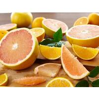 Heritage Valencia Oranges and Ruby Red Grapefruit