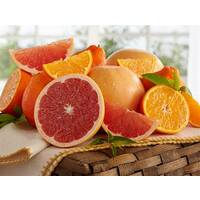 Honeybells and Ruby Red Grapefruit